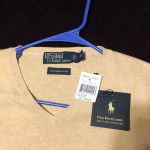 Other - Polo Ralph Lauren Pima v neck 2ply sweater